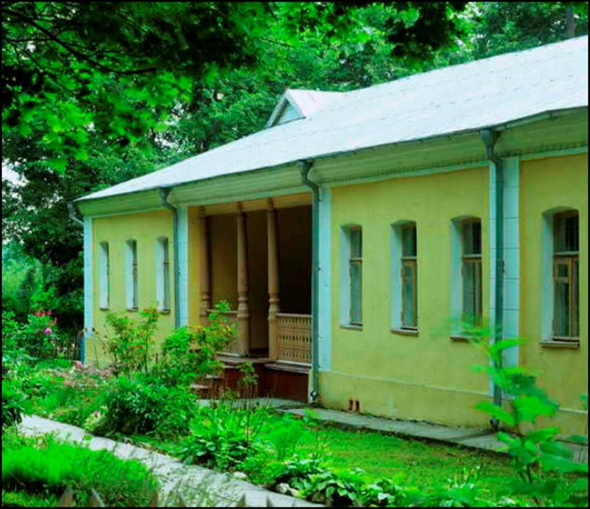 Рис.19 Муниципальный музей Д.И.Менделеева в Боблово под Клином Московской области.