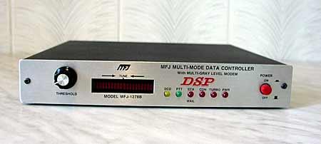 MFJ-1278B/DSP вид спереди.