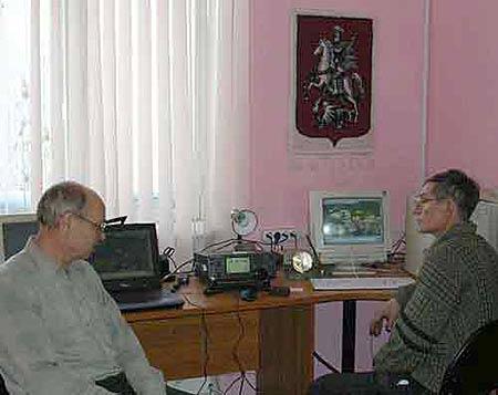 Радиолюбители тестируют новый вид связи