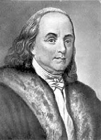 Бенджамин Франклин (17.01.1706-17.04.1790)