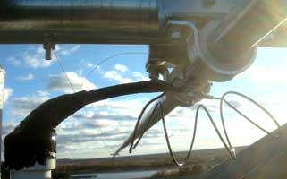 Окончательный видподключения кабеля икатушки квибратору
