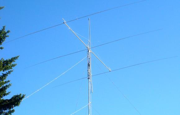 Подъем антенны напромежуточную точку длянастройки