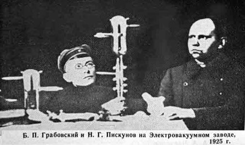 Б.П.Грабовский и .Г.Пискунов