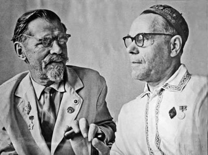 К.К.Сливицкий и И.Ф.Белянский в 70-х