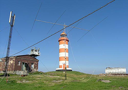 Антенны «близнецы и братья» GSM MTC и Yagi на 20 м.