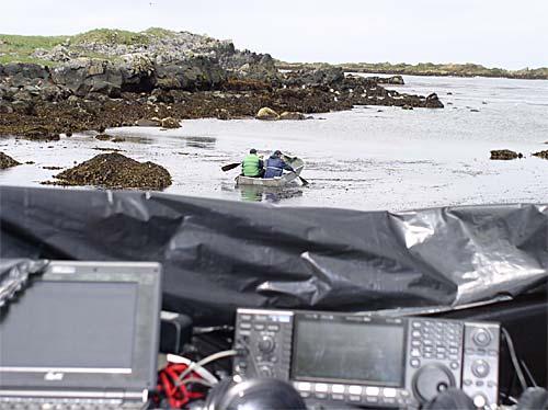 Фото на лодке с веслами