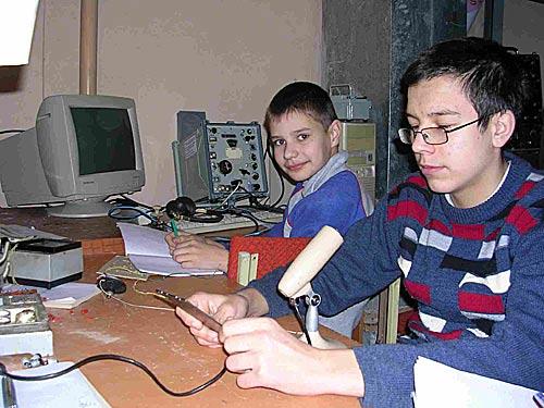 Коллективная радиостанция средней школы 10