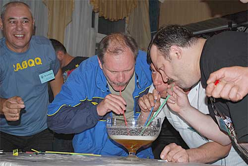 III Beer DX Contest - команда-победительница Томской области