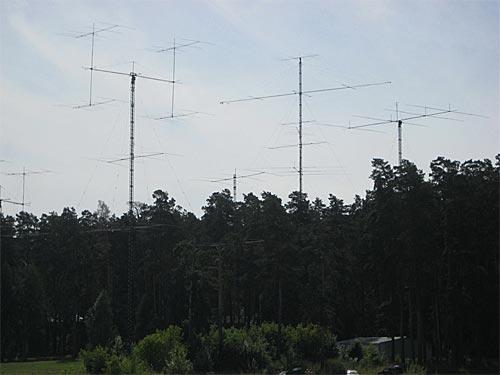 Антенное поле RZ9OZO