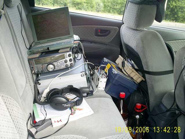 радиолюбительские APRS УКВ объекты базируются  на  GPS и трансиверах типа KENWOOD TМ-D700e и TH-d7e