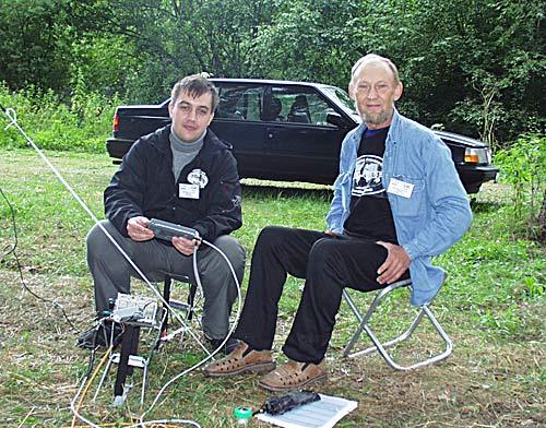 Владимир Никитин и Владимир Поляков