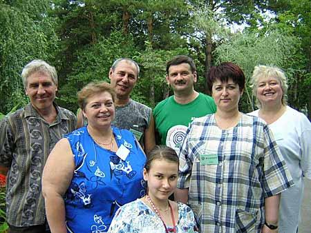 Группа радиолюбителей из Якутии - RW9OT, RA0QQ, UA9OBA; YL's - UA0QOS, UA0QOU (дочь RA0QQ), UA0QOI, UA0QMF (XYL RA0QQ)