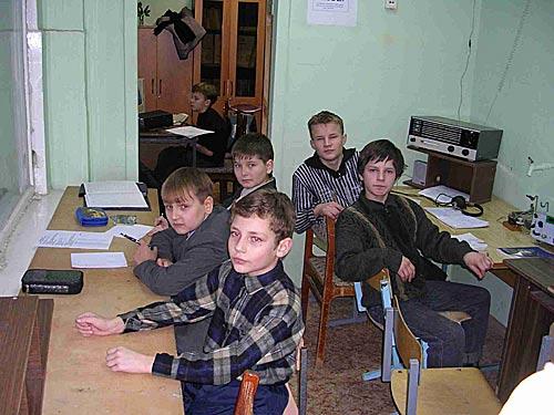 Коллективная радиостанция средней школы 17