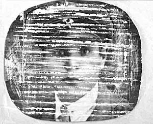 Примерно так выглядело изображение на экране 26 июля 1928 г.