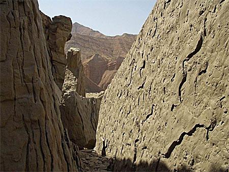 Ущелье в Иранских горах