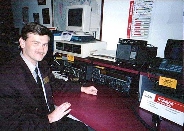 Юрий Заруба UA9OBA/N7UJZ - на коллективной радиостанции ICOM America
