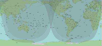 Карта темного времени