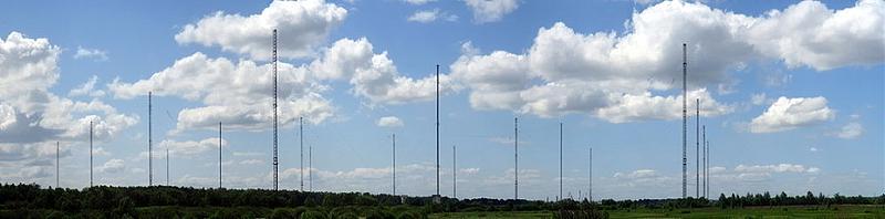 Современный вид радиостанции в поселке Дружный под Нижним Новгородом.