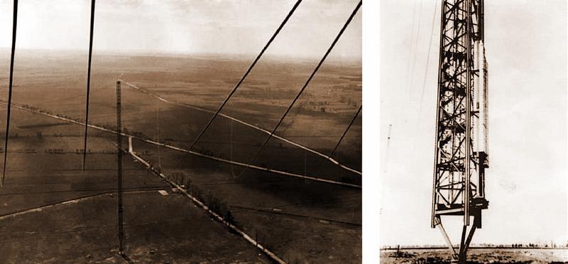Вид с одной из мачт «Голиафа» с высоты приблизительно 30 метров.