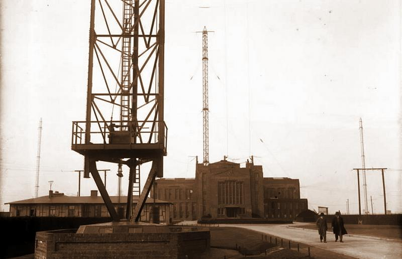Сверхдлинноволновая радиостанция «Науэн», фото 1931 года.