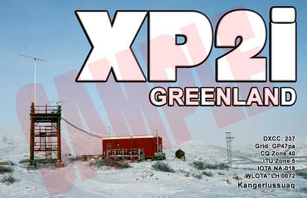 XP2I OX/OZ2I Гренландия