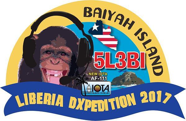 5L3BI Остров Баиях Радиолюбительская IOTA DX экспедиция Логотип