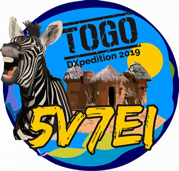 5V7EI Того Логотип DX экспедиции