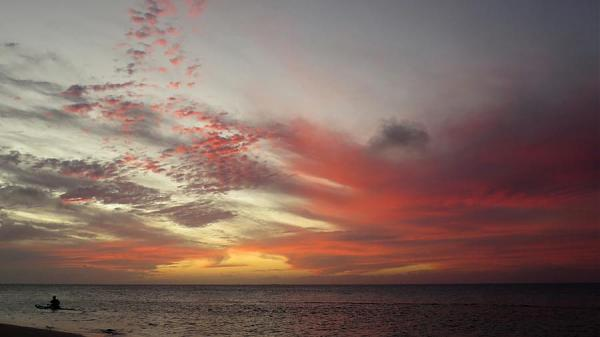Остров Раиваваэ TX5T Закат, Анатону.