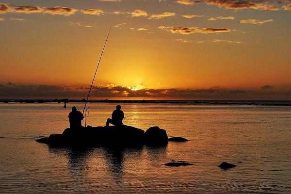 3B8XF Рыбалка, остров Маврикий