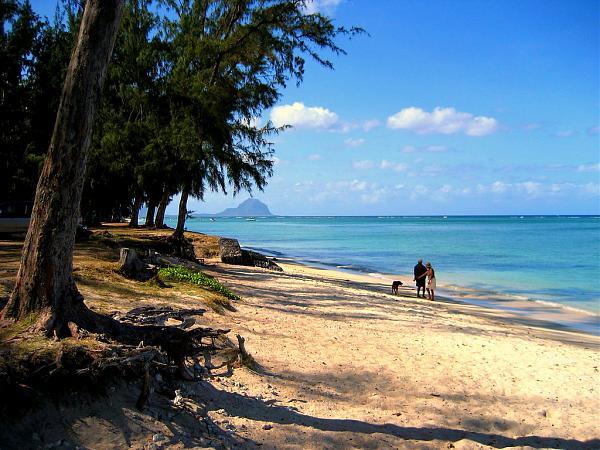 3B8MB Пляж Флик эн Флак, Маврикий.