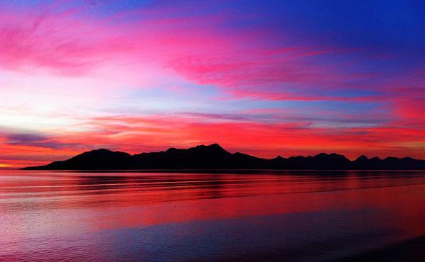 Остров Хинчинбрук AL3/AA7CH Восход Аляска