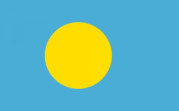 Палау Флаг Палау