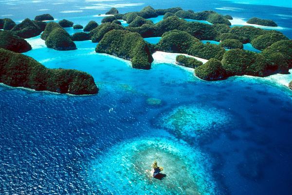 T8CW Остров Корор, Палау Туристические достопримечательности