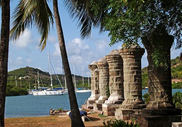 Остров Антигуа V26K Туристические достопримечательности