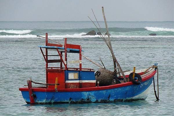 4S7IGG Велигама, Шри Ланка Рыболовецкое судно