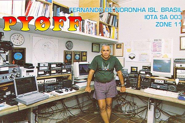 PY0FF Остров Фернанду ди Норонья
