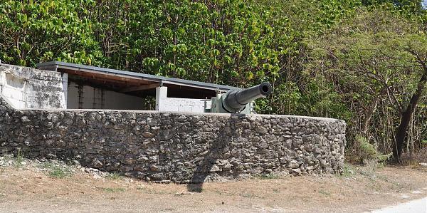VK9XG Пушка, остров Рождества, Австралия.