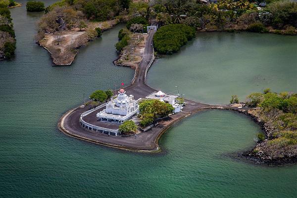 3B8MU Индуистский храм, Маврикий.