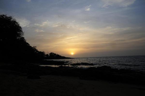 9LY1JM Закат, Банановые острова, Сьерра Леоне.