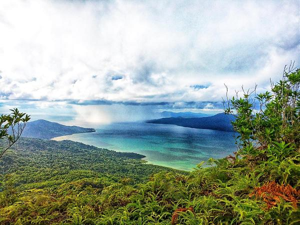 FH/DL9HAL Гора Чунгуи, остров Майотта
