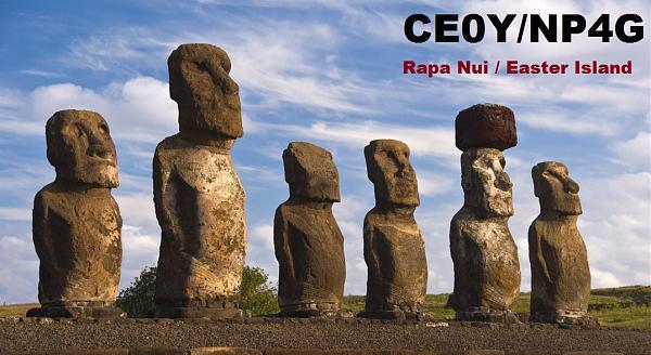 CE0Y/NP4G Рапа Нуи Остров Пасхи