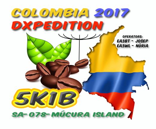 5K1B Остров Мукура, Архипелаг Сан Бернардо Логотип экспедиции