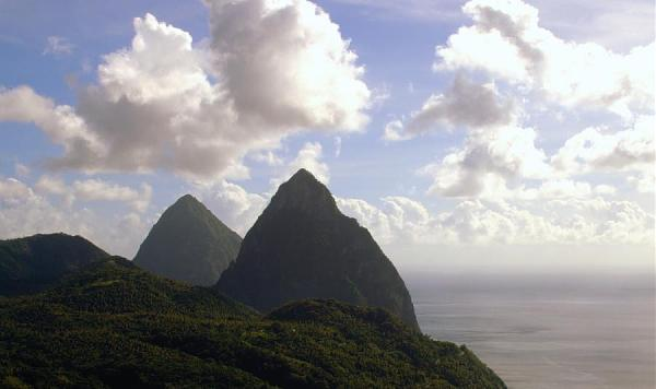 Остров Сент Люсия J68SL J6/WB2YQH Питонс