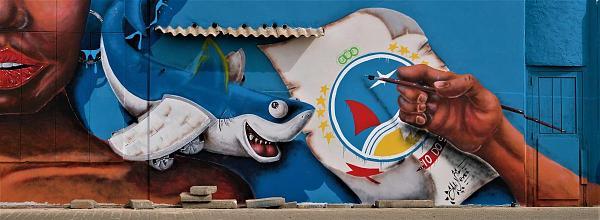 D44C Уличная графика, Палмейра, остров Сал, Кабо Верде