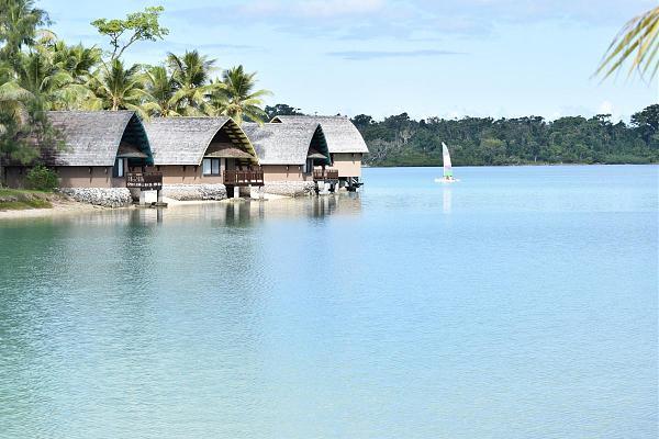 YJ0CA Гостиница Holiday Inn, Лагуна Эракор, Вануату