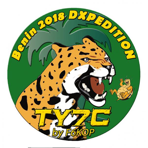 TY7C Вида, Бенин. Логотип DX экспедиции.