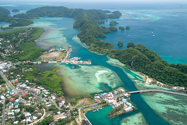 T88KZ Остров Корор, Республика Палау