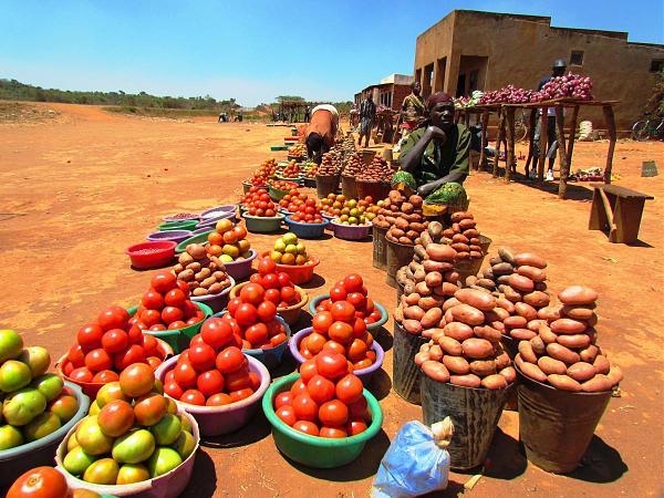 7Q7WW Малави Уличный рынок