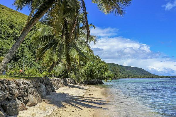 FO/OK2ZI Остров Таити, Французская Полинезия