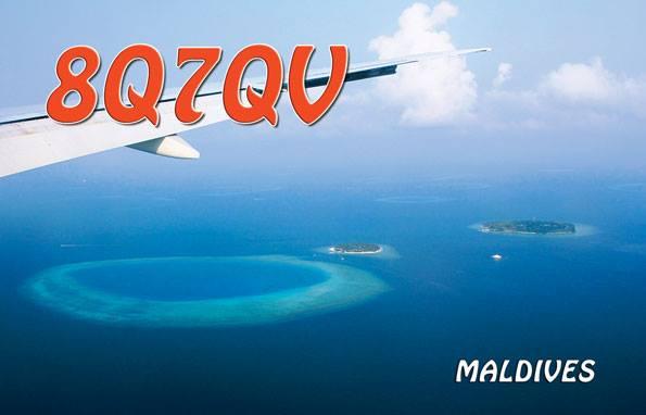 Остров Фихалхохи 8Q7QV QSL